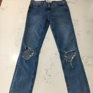 Free people jeans size:28 new with tags 🏷